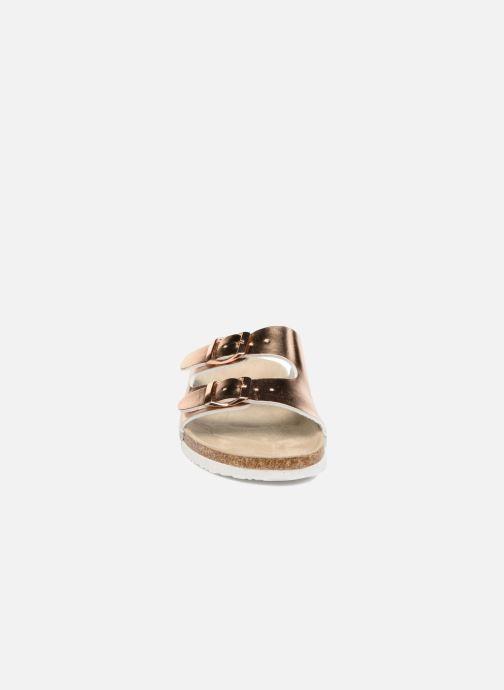 Sandales et nu-pieds I Love Shoes Mcbee Or et bronze vue portées chaussures