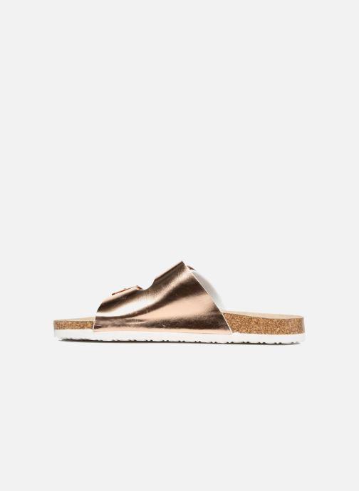 Sandales et nu-pieds I Love Shoes Mcbee Or et bronze vue face
