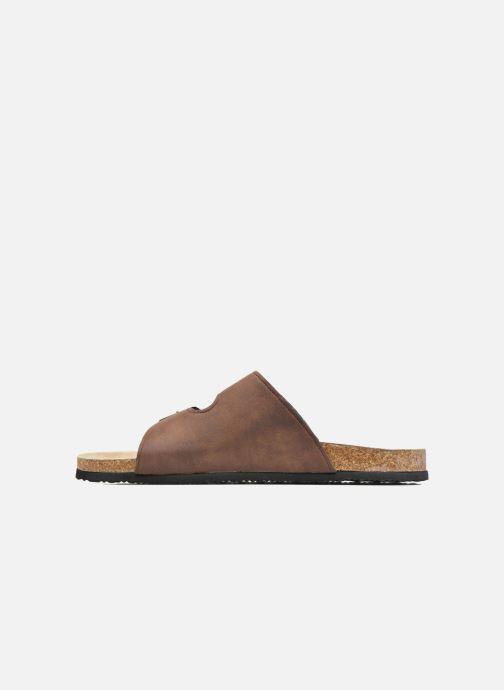 Sandales et nu-pieds I Love Shoes MCerdu Marron vue face