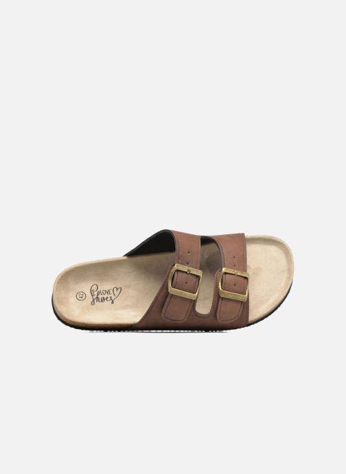 Sandalen I Love Shoes MCerdu braun ansicht von links