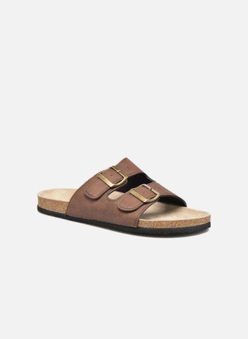 Sandals I Love Shoes MCerdu Brown detailed view/ Pair view