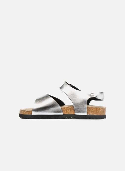 Sandales et nu-pieds I Love Shoes MCGEE Argent vue face