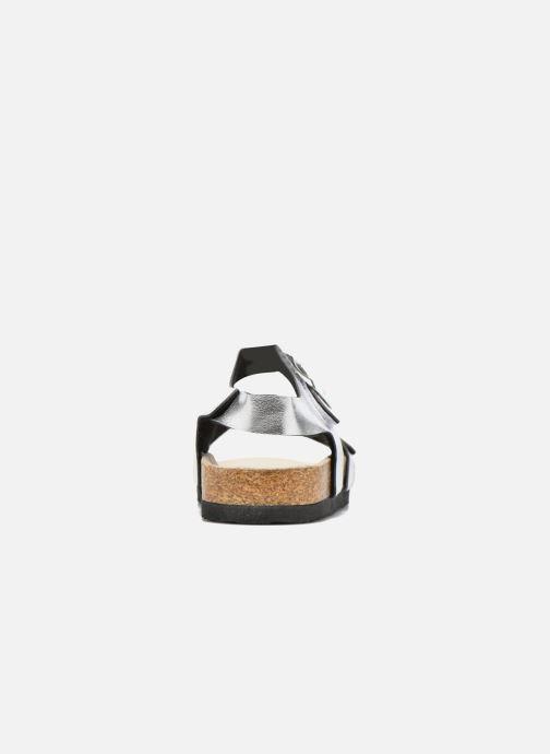 Sandalias I Love Shoes MCGEE Plateado vista lateral derecha