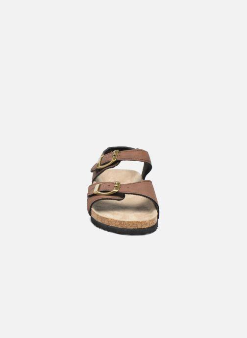 Sandales et nu-pieds I Love Shoes MCGEE Marron vue portées chaussures