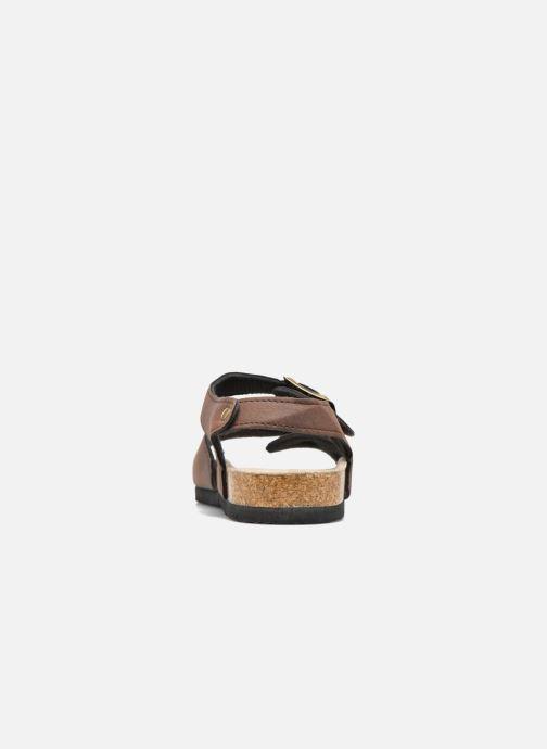 Sandalen I Love Shoes MCGEE braun ansicht von rechts