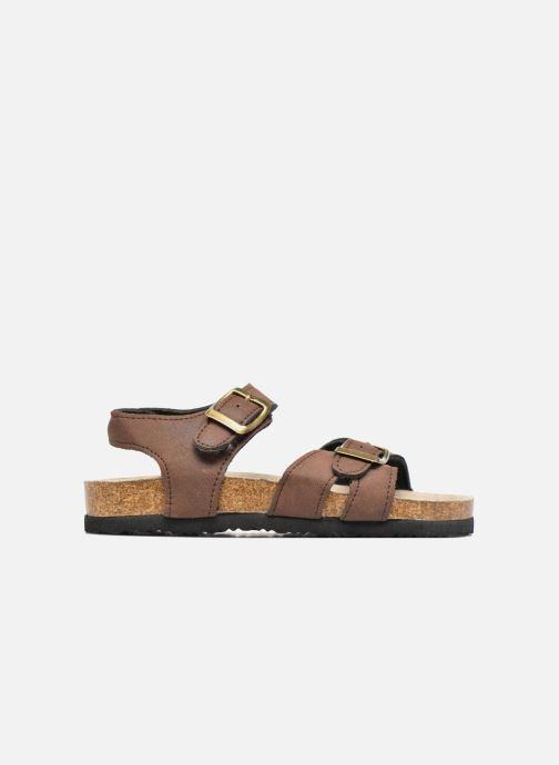 Sandalen I Love Shoes MCGEE braun ansicht von hinten