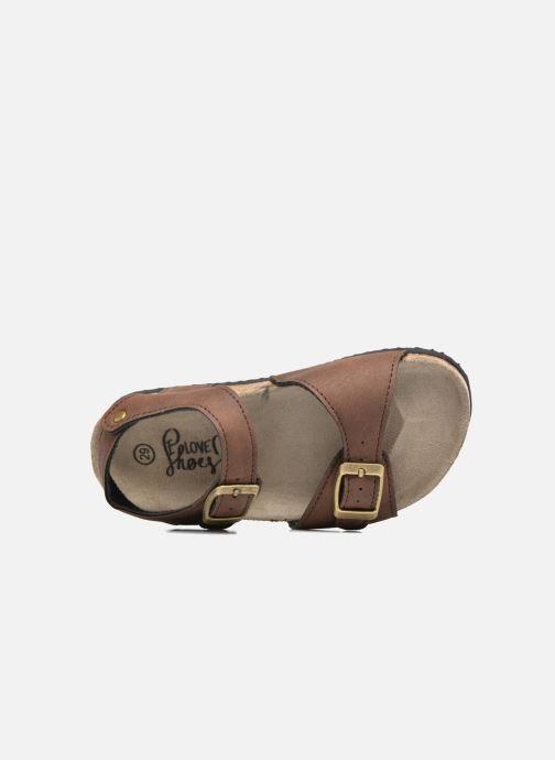 Sandalen I Love Shoes MCGEE braun ansicht von links