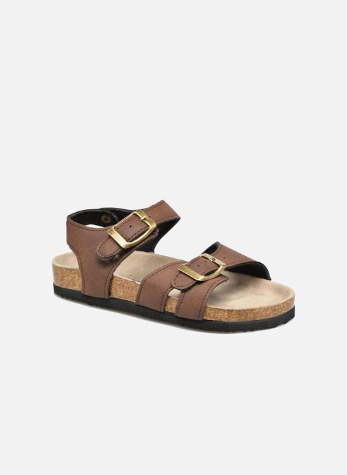 Sandals I Love Shoes MCGEE Brown detailed view/ Pair view
