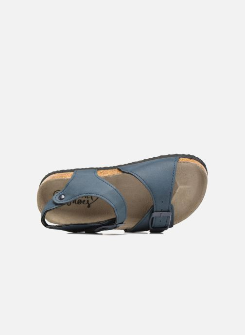 Sandalias I Love Shoes MCGEE Azul vista lateral izquierda