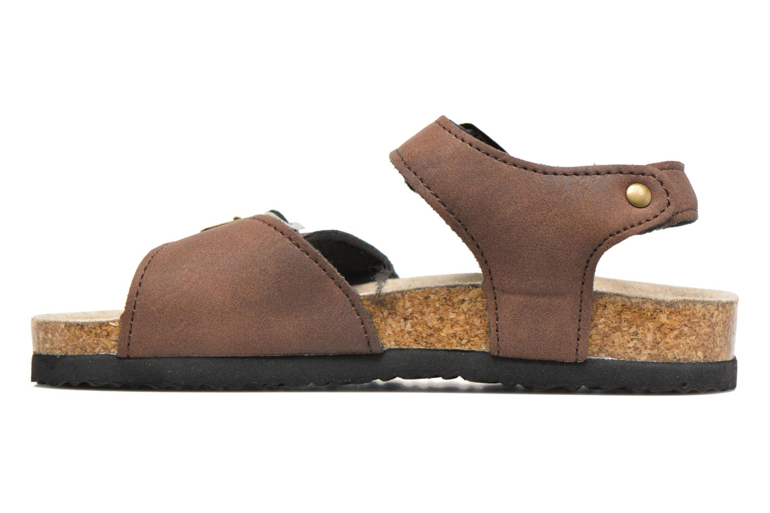 Sandales et nu-pieds I Love Shoes MCGEE Marron vue face