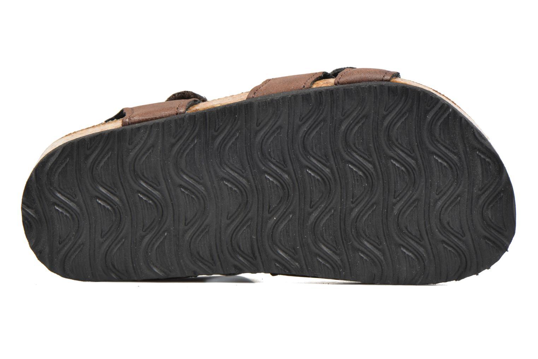 Sandalen I Love Shoes MCGEE braun ansicht von oben