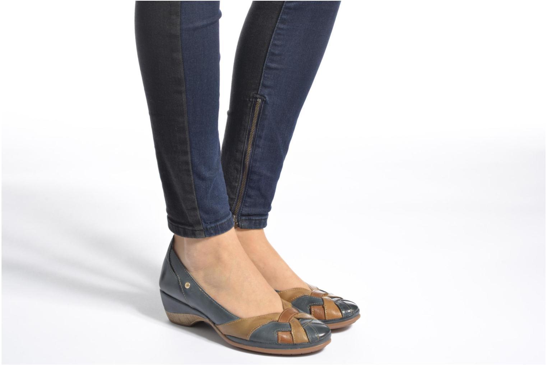 Zapatos de tacón Pikolinos Coimbra W7L-5691 Azul vista de abajo