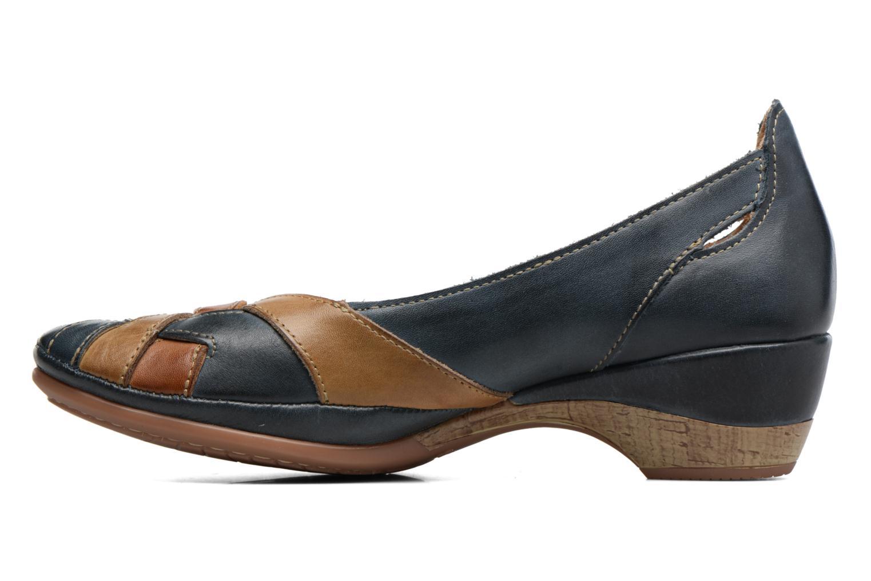 Zapatos de tacón Pikolinos Coimbra W7L-5691 Azul vista de frente
