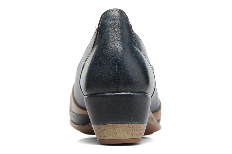 Zapatos de tacón Pikolinos Coimbra W7L-5691 Azul vista lateral derecha