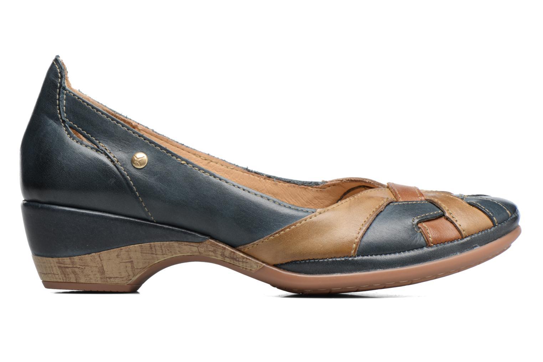 Zapatos de tacón Pikolinos Coimbra W7L-5691 Azul vistra trasera