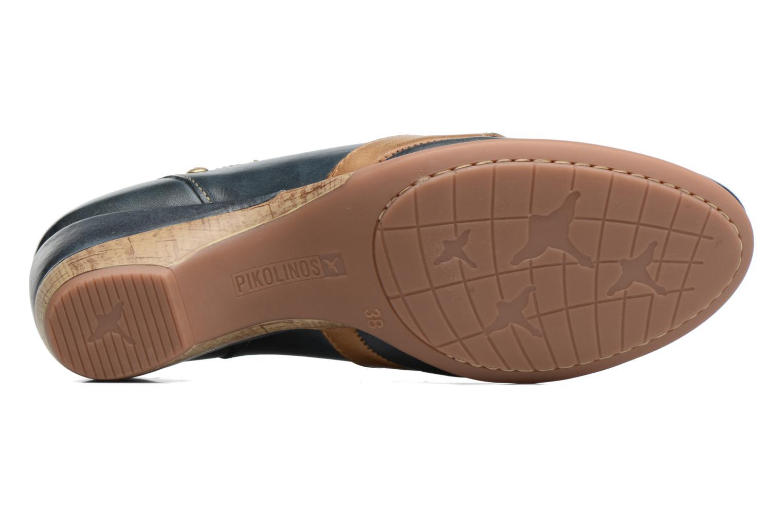 Zapatos de tacón Pikolinos Coimbra W7L-5691 Azul vista de arriba