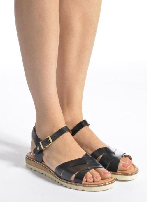 Sandales et nu-pieds Pikolinos Alcudia W1L-0955 Noir vue bas / vue portée sac