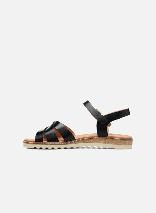 Sandales et nu-pieds Pikolinos Alcudia W1L-0955 Noir vue face