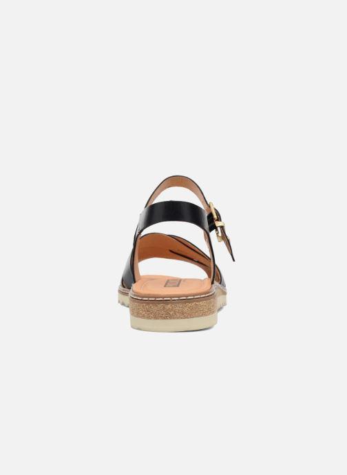 Sandales et nu-pieds Pikolinos Alcudia W1L-0955 Noir vue droite