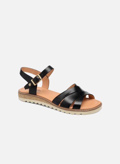 Sandales et nu-pieds Pikolinos Alcudia W1L-0955 Noir vue détail/paire