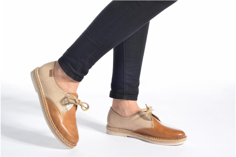 Zapatos con cordones Pikolinos Cadamunt W3K-4604 Marrón vista de abajo