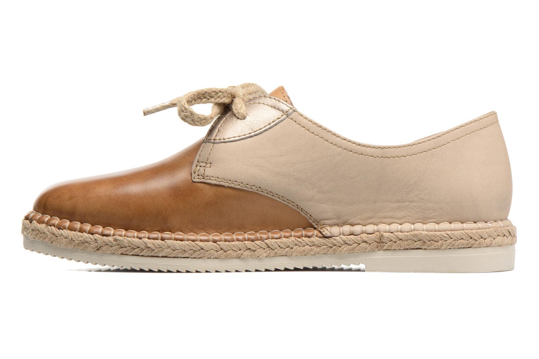 Zapatos con cordones Pikolinos Cadamunt W3K-4604 Marrón vista de frente