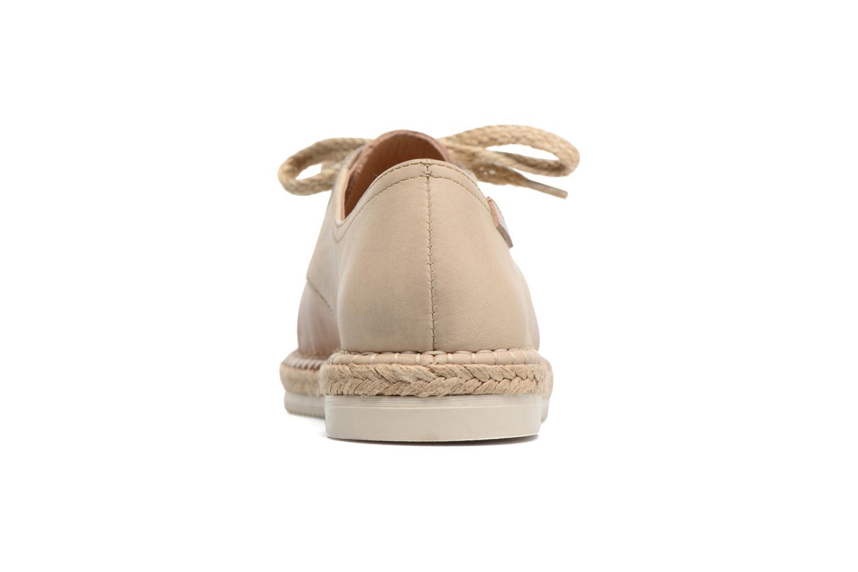 Zapatos con cordones Pikolinos Cadamunt W3K-4604 Marrón vista lateral derecha