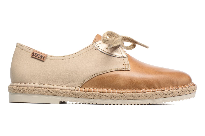 Zapatos con cordones Pikolinos Cadamunt W3K-4604 Marrón vistra trasera