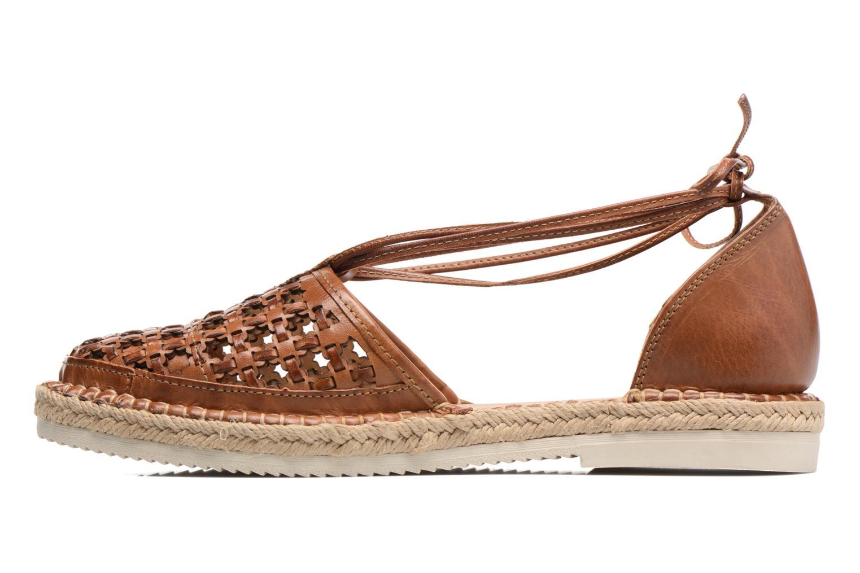 Zapatos con cordones Pikolinos Cadamunt W3K-3631 Marrón vista de frente