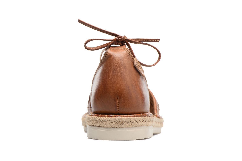 Zapatos con cordones Pikolinos Cadamunt W3K-3631 Marrón vista lateral derecha