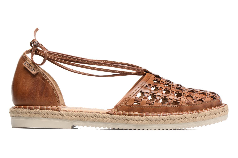 Zapatos con cordones Pikolinos Cadamunt W3K-3631 Marrón vistra trasera
