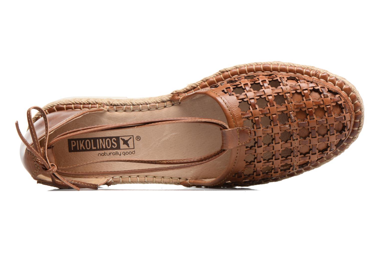 Zapatos con cordones Pikolinos Cadamunt W3K-3631 Marrón vista lateral izquierda