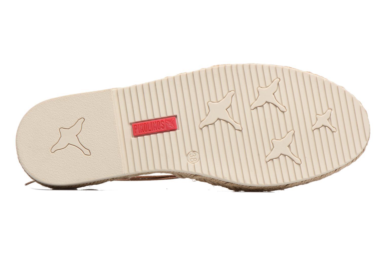 Zapatos con cordones Pikolinos Cadamunt W3K-3631 Marrón vista de arriba