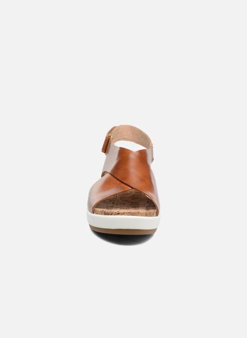 Sandalen Pikolinos Mykonos W1G-0757C2 braun schuhe getragen