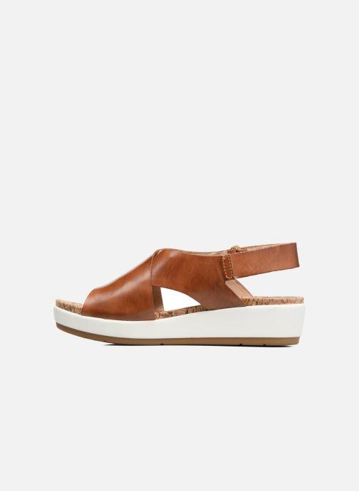 Sandales et nu-pieds Pikolinos Mykonos W1G-0757C2 Marron vue face