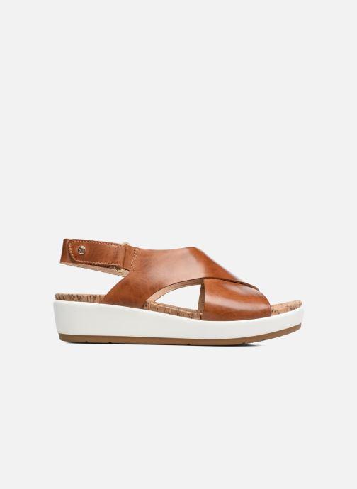 Chez 0757 Pikolinos marron Mykonos Sandales pieds Et W1g Nu 6wqq8U7