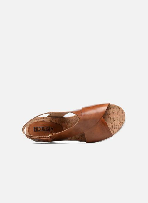 Sandales et nu-pieds Pikolinos Mykonos W1G-0757C2 Marron vue gauche