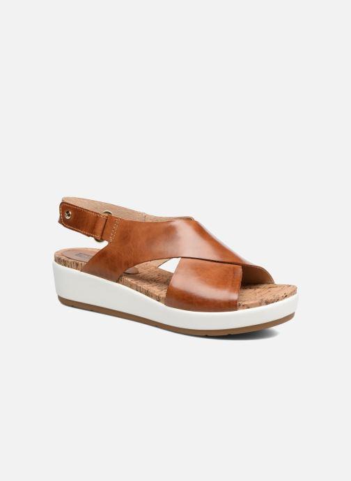 Sandales et nu-pieds Pikolinos Mykonos W1G-0757C2 Marron vue détail/paire