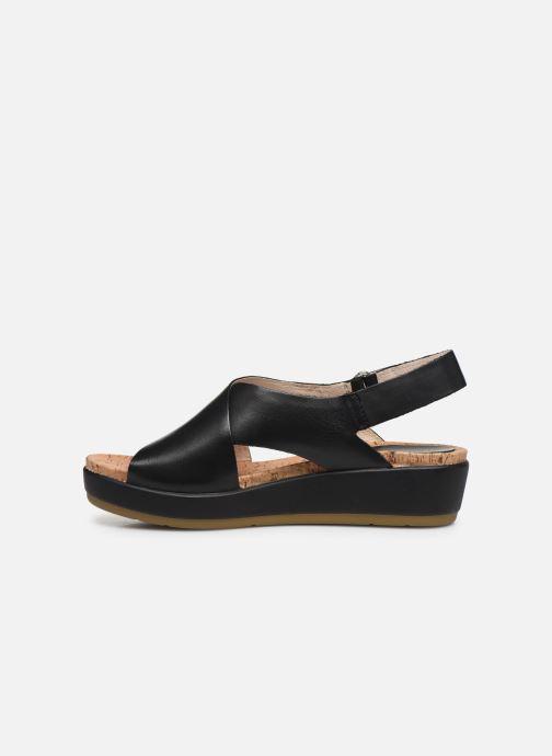 Sandali e scarpe aperte Pikolinos Mykonos W1G-0757C2 Nero immagine frontale