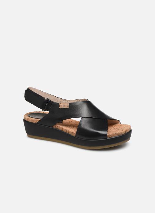 Sandales et nu-pieds Pikolinos Mykonos W1G-0757C2 Noir vue détail/paire
