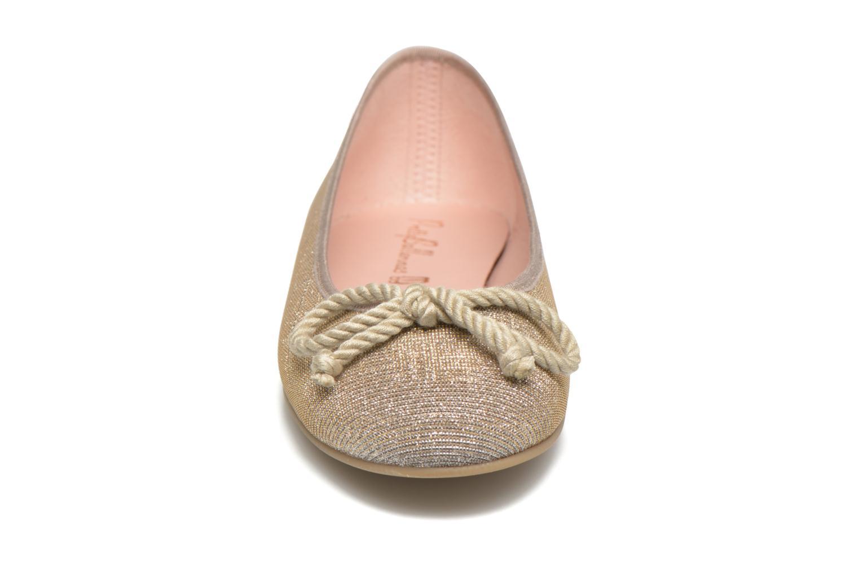 Ballerina Pretty Ballerinas Rosario Glitter Beige bild av skorna på