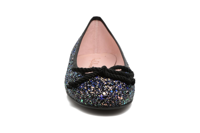 Ballerines Pretty Ballerinas Rosario Glitter Noir vue portées chaussures