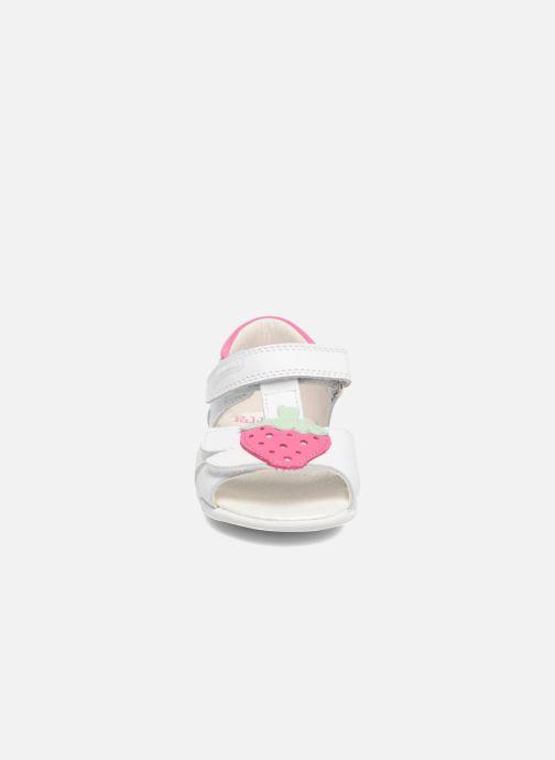 Sandales et nu-pieds Pablosky Fresa Blanc vue portées chaussures