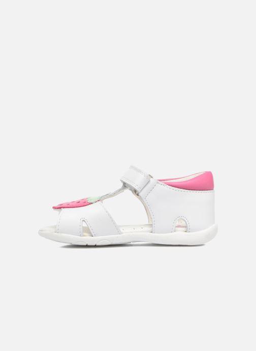 Sandales et nu-pieds Pablosky Fresa Blanc vue face