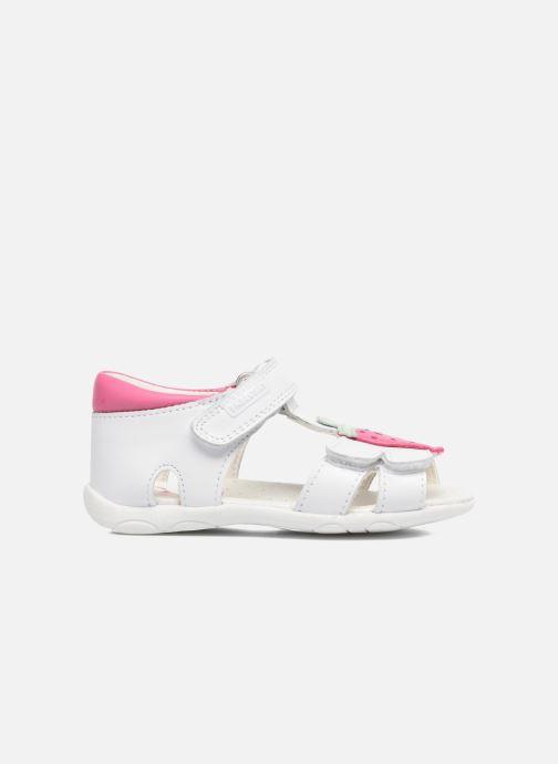 Sandales et nu-pieds Pablosky Fresa Blanc vue derrière