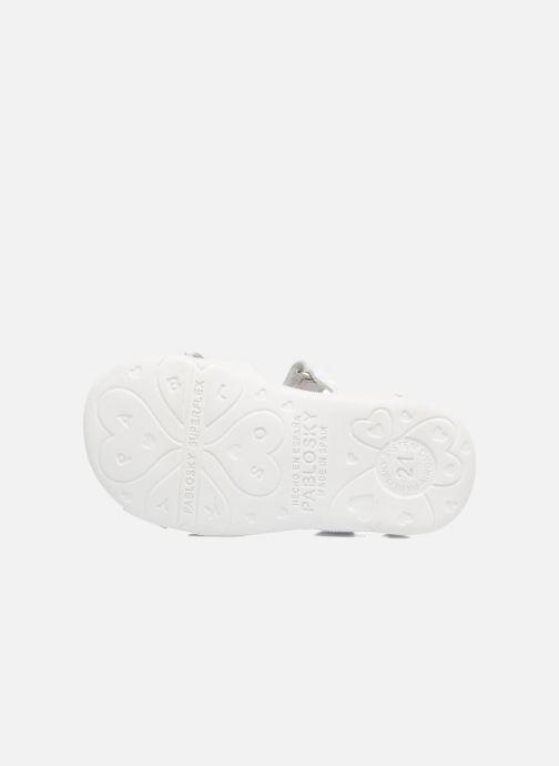 Sandales et nu-pieds Pablosky Fresa Blanc vue haut