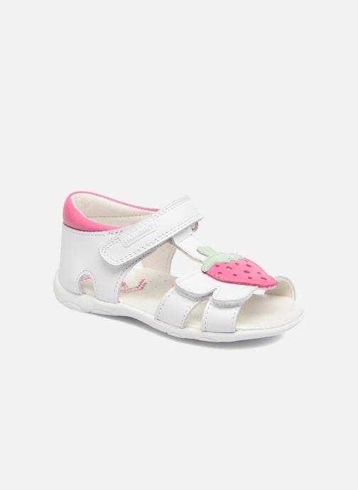 Sandales et nu-pieds Pablosky Fresa Blanc vue détail/paire