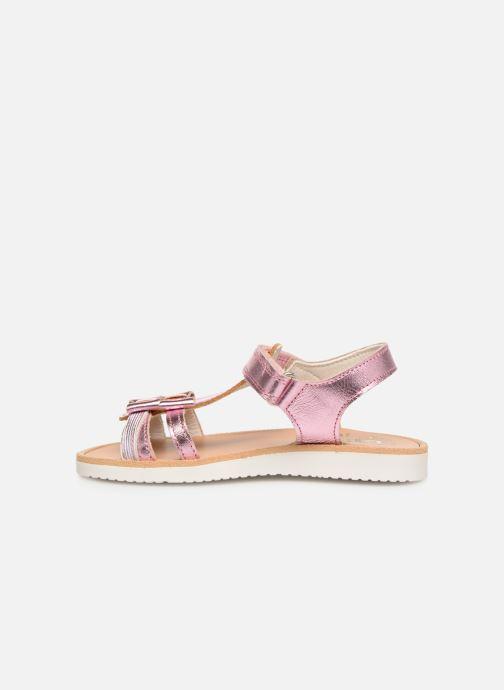 Sandales et nu-pieds Pablosky Betty Argent vue face