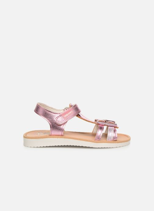Sandales et nu-pieds Pablosky Betty Argent vue derrière
