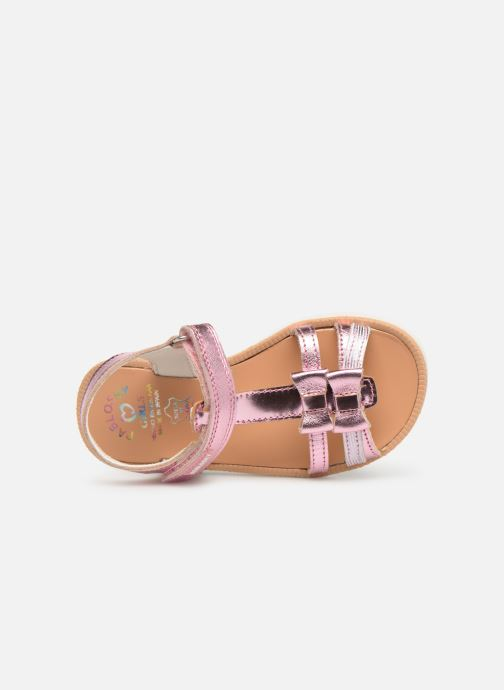 Sandales et nu-pieds Pablosky Betty Argent vue gauche